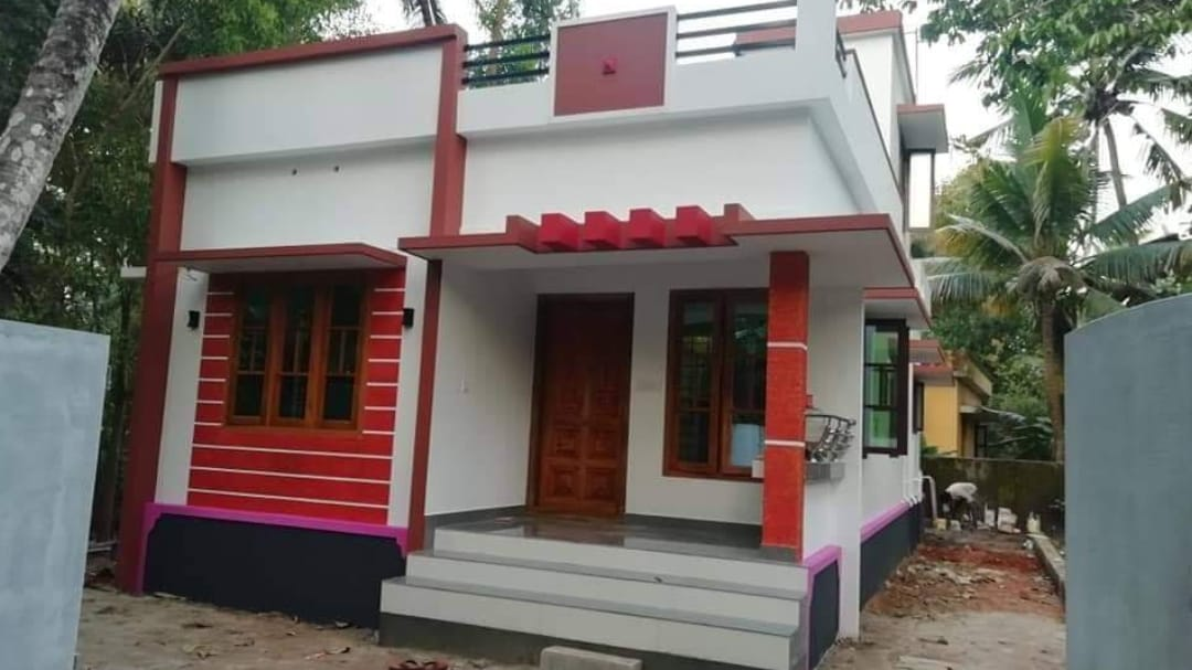 700 Square Feet 2 Bedroom Single Floor Modern House And Plan Home Pictures