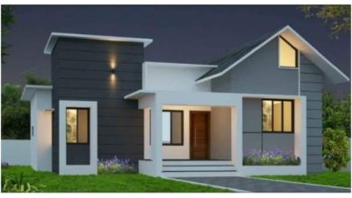 Photo of 715 Square Feet 2 Bedroom Single Floor Low Budget House and Free Plan