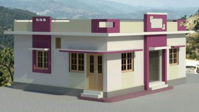 Photo of 915 Sq Ft 2 BHK Modern Single Floor Beautiful Home and Plan