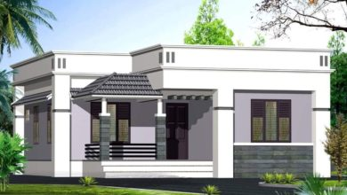 Photo of 937 Square Feet 2 Bedroom Simple and Beautiful House and Plan