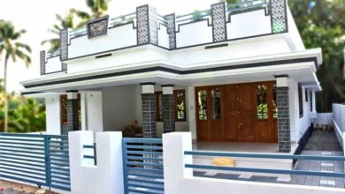Photo of 1000 Square Feet 2 Bedroom Single Floor Modern Beautiful House and Plan