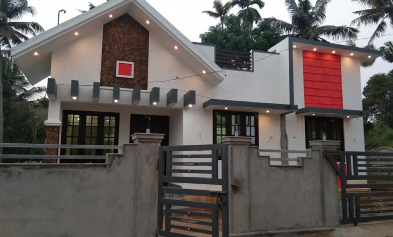 1000 Square Feet 3 Bedroom Single Floor Beautiful House at 4 Cent Land