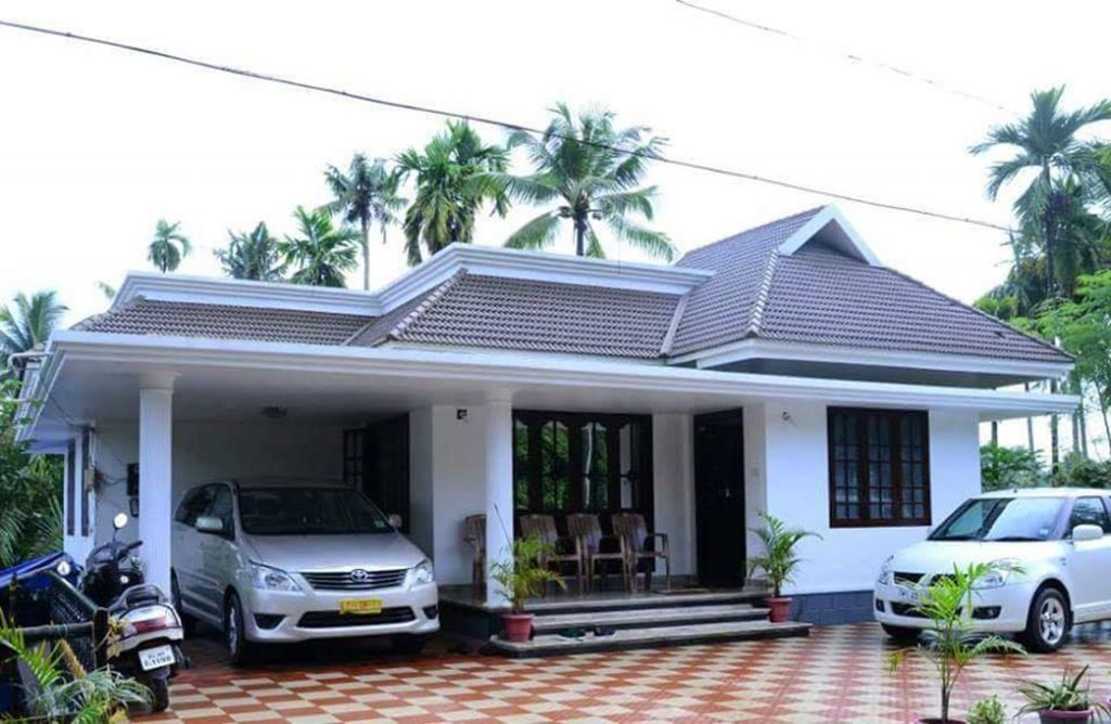 Photo of 1033 Square Feet 2 Bedroom Traditional Style Beautiful House and Plan