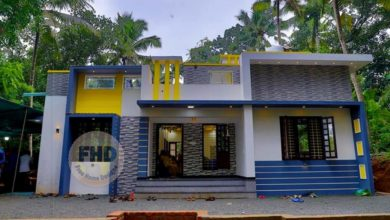 Photo of 1050 Square Feet 3 Bedroom Single Floor Modern House and Plan