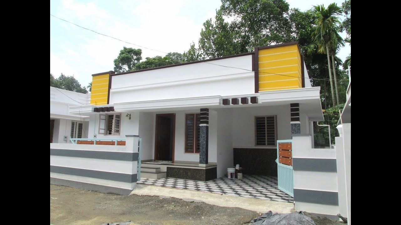 1097 Square Feet 3 Bedroom Single Floor Beautiful House and Plan