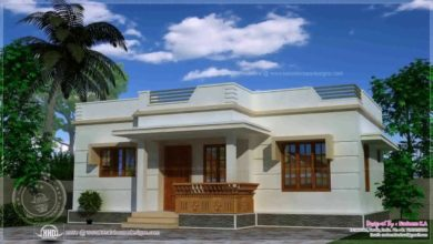 Photo of 1110 Square Feet 3 Bedroom Single Floor Modern House and Plan