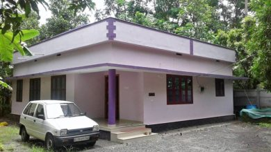 Photo of 1200 Square Feet 3 Bedroom Kerala Style Simple House at 11.5 Cent Land
