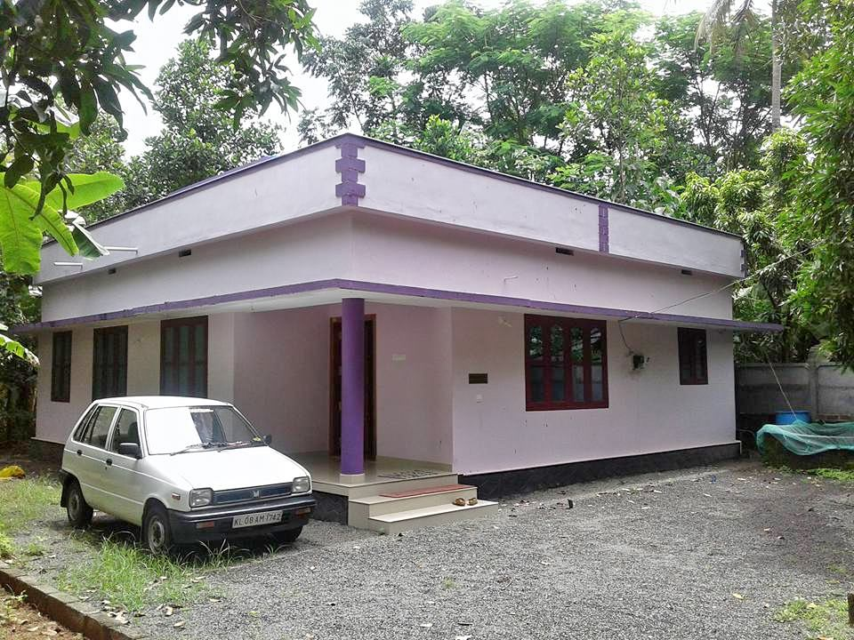 1200 Square Feet 3 Bedroom Kerala Style Simple House at 11.5 Cent Land