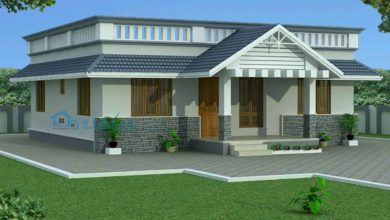 Photo of 1200 Square Feet 3 Bedroom Traditional Style Beautiful House and Plan