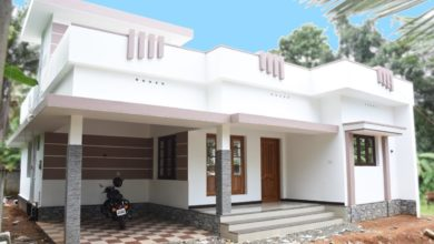 Photo of 1290 Square Feet 3 Bedroom Single Floor Modern Beautiful House and Plan