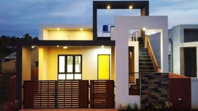Photo of 1303 Square Feet 2 BHK Contemporary Style Modern Home and Plan