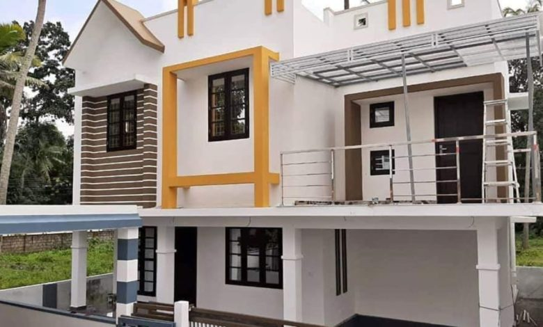 1500 Square Feet 3 Bedroom Modern Two Floor House at 3 Cent Plot