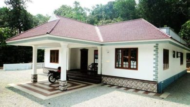 Photo of 1500 Square Feet 3 Bedroom Single Floor Kerala Style House and Plan