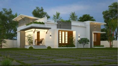 Photo of 500 Square Feet 2 Bedroom Single Floor Modern Low Budget House and Plan