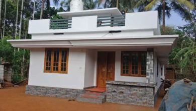 Photo of 700 Square Feet 2 Bedroom Single Floor Beautiful Simple House and Plan