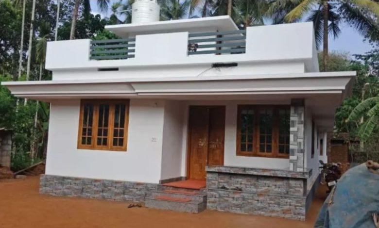 700 Square Feet 2 Bedroom Single Floor Beautiful Simple House and Plan
