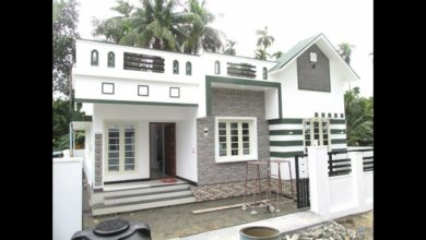 Photo of 850 Square Feet 2 BHK Simple and Beautiful Single Floor House and Plan