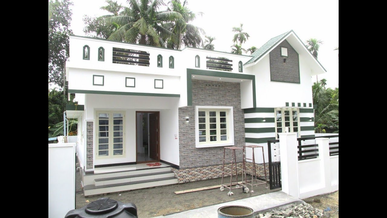 850 Square Feet 2 BHK Simple and Beautiful Single Floor House and Plan