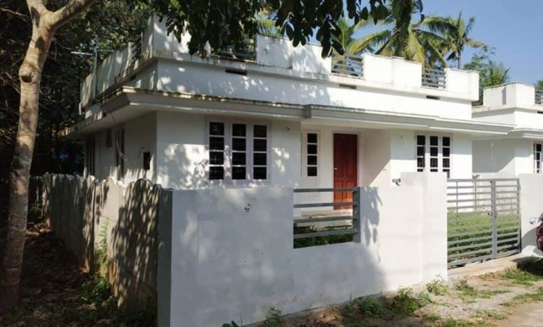 880 Square Feet 3 Bedroom Single Floor Low Budget House and Interior