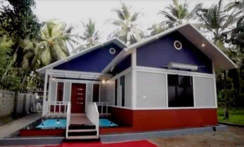 930 Square Feet 2 Bedroom Single Floor House and Plan For 9 Lacks