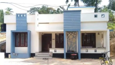 Photo of 950 Square Feet 2 Bedroom Single Floor Modern House and Plan