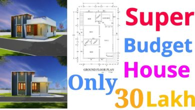 Photo of 1000 Square Feet 3 Bedroom Contemporary Style Single Floor House and Plan