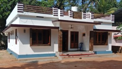 Photo of 1026 Square Feet 3 Bedroom Modern Single Floor Beautiful House and Plan