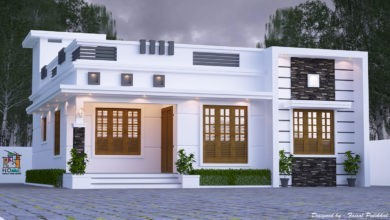 Photo of 1174 Square Feet 3 Bedroom Single Floor Modern Beautiful House Design