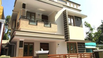Photo of 1300 Square Feet 3BHK Modern Two Floor Home and Interior at 3 Cent Land