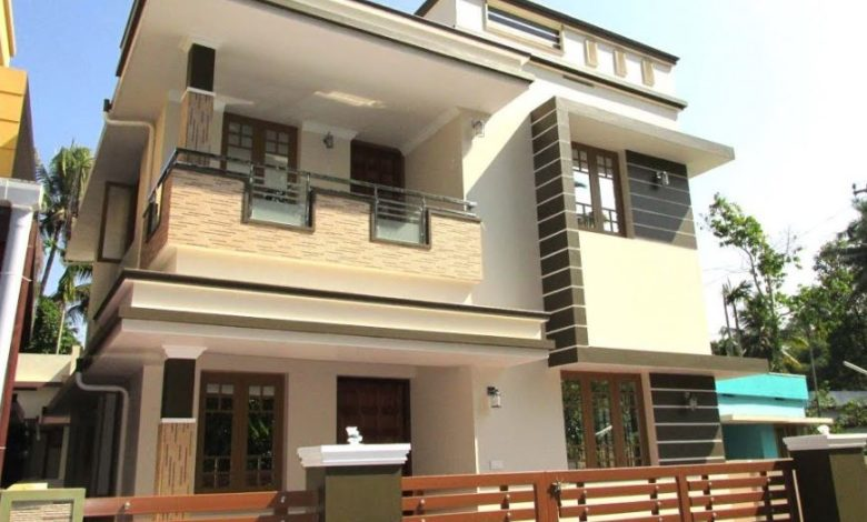 1300 Square Feet 3BHK Modern Two Floor Home and Interior at 3 Cent Land