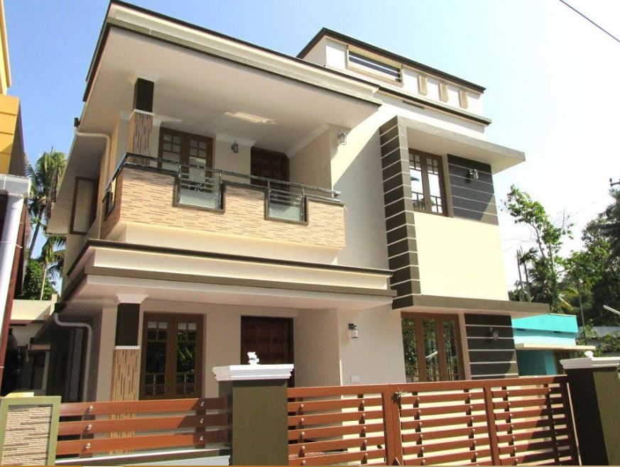 1300 Square Feet 3bhk Modern Two Floor Home And Interior At 3 Cent Land Home Pictures