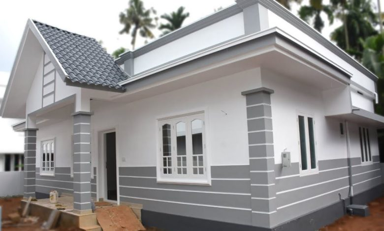 1350 Square Feet 3 Bedroom Single Floor Low Budget Beautiful House and Plan