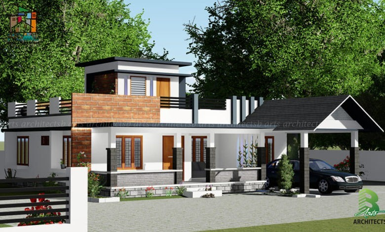 1363 Square Feet 3 BHK Single Floor Traditional Style Beautiful House