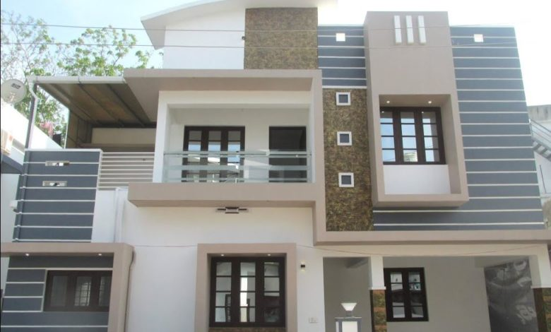 1450 Square Feet 3 Bedroom Double Floor House at 3 Cent Land