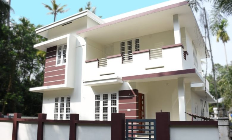 1500 Square Feet 3 Bedroom Modern Double Floor House at 4.7 Cent Land