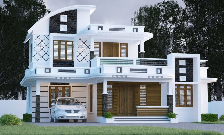 1575 Square Feet 3 Bedroom Contemporary Style Modern Beautiful House Design