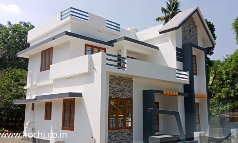 1600 Square Feet 3 Bedroom Contemporary Two Floor Beautiful House
