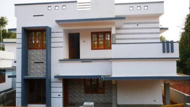 Photo of 1650 Square Feet 4 Bedroom Double Floor Modern House at 4.50 Cent Land