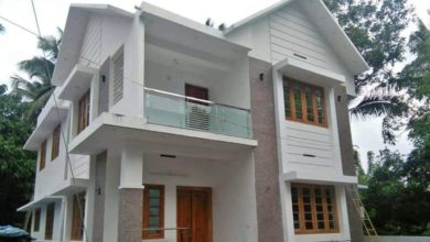Photo of 2000 Sq Ft 4 BHK Double Floor Modern House at 5 Cent Plot