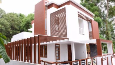 Photo of 2077 Square Feet 3 Bedroom Contemporary Style House at 5 Cent Land