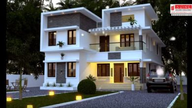 Photo of 2848 Square Feet 5 Bedroom Contemporary Style Modern Two Floor Home and Plan