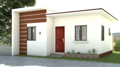 Photo of 484 Square Feet 2 Bedroom Single Floor Low Budget Home and Plan