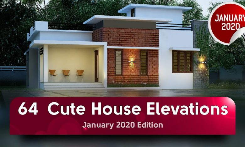64 Best Single and Double Floor Contemporary Style Modern Elevation Designs