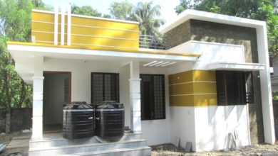 Photo of 700 Square Feet 2 BHK Contemporary Style Modern House and Interior