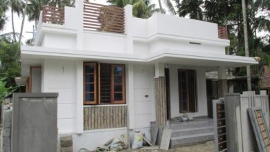 Photo of 700 Square Feet 2 Bedroom Single Floor Modern Low Budget House and Plan