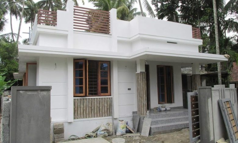700 Square Feet 2 Bedroom Single Floor Modern Low Budget House and Plan