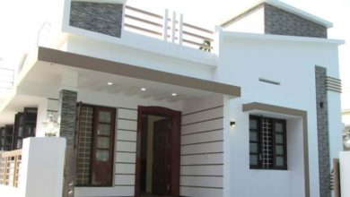 Photo of 733 Square Feet 2 Bedroom Single Floor Modern and Beautiful House and Plan