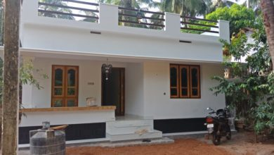 Photo of 750 Square Feet 2 Bedroom Single Floor Low Budget House and Plan