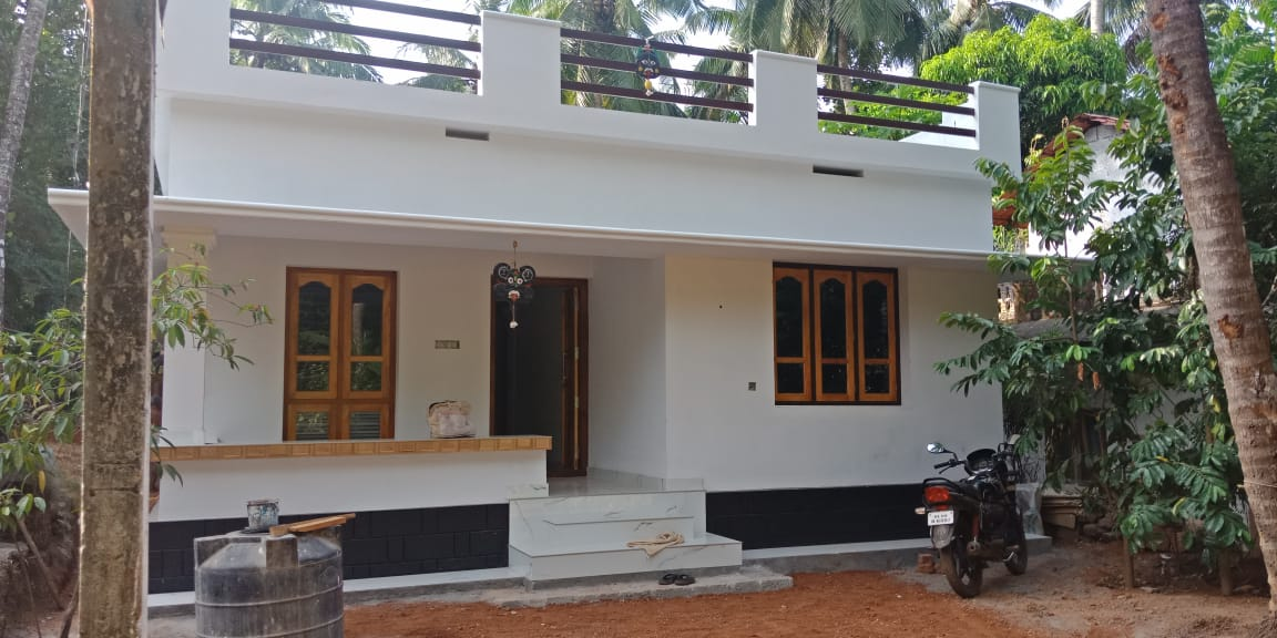 750 Square Feet 2 Bedroom Single Floor Low Budget House and Plan