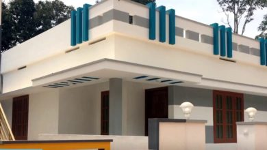 Photo of 750 Square Feet 2 Bedroom Single Floor Modern Beautiful House and Plan